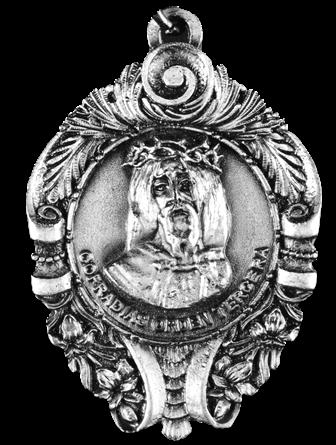 medalla eccehomo cofradia soledad ferrol